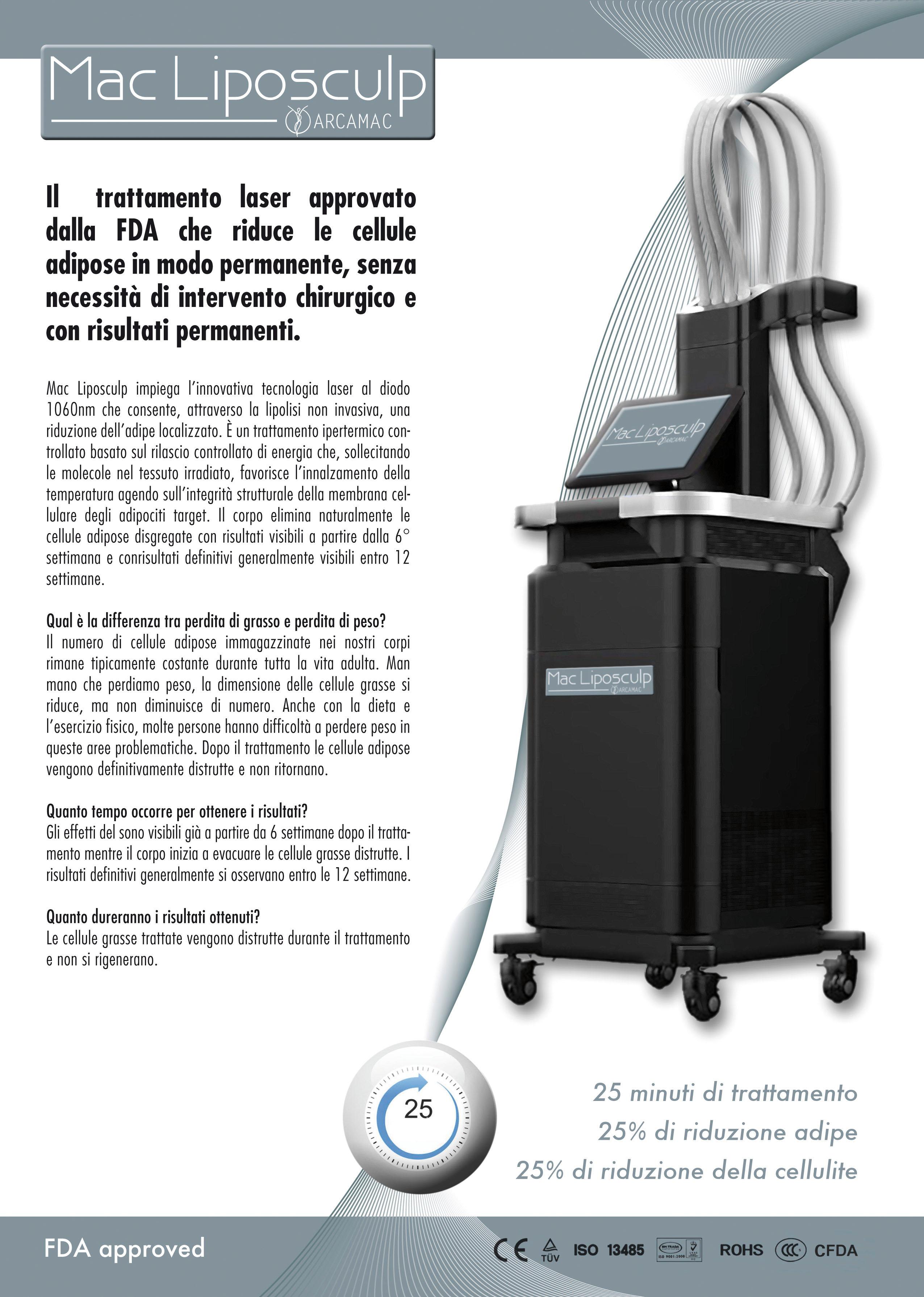 trattamento laser per perdita di peso